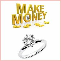 DIAMOND RINGS Website Upto £743.00 A SALE|FREE Domain|FREE Hosting|FREE Traffic