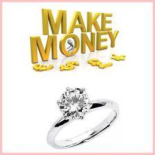 DIAMOND RINGS Website Upto £743.00 A SALE|FREE Domain|FREE Hosting|FREE Traffic