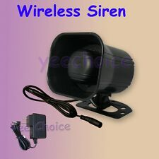 WIRELESS SIREN using in T-series wireless home security system