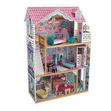 KidKraft Casa delle Bambole Annabelle in Legno, Multicolore, 65934 (o4R)
