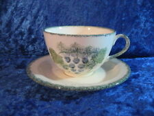 Unboxed British Poole Pottery Cups & Saucers