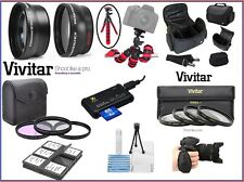 Pro HD Super Deluxe Accessory Kit For Panasonic Lumix DMC-G7H (14-140mm Lens)