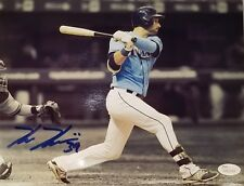 Kevin Kiermaier Autographed Signed 8x10 Tampa Bay Rays JSA