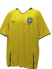 NUEVO COLECCIONISTAS Clásicos Nike Brasil Camiseta de fútbol Home CANARIO Yellow