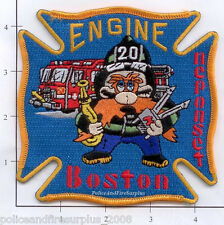 Massachusetts - Boston Engine 20 MA Fire Dept Patch