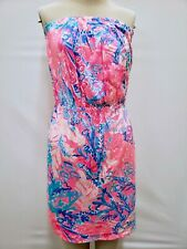 "New Lilly Pulitzer Women's Windsor Dress Light Pascha ""Aquadesiac,"" XS, M, L"