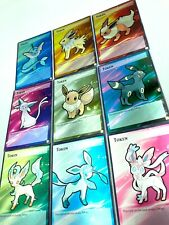 Full Art Yugioh Custom Made Token Card: All Pokemon Eevee Evolution Available