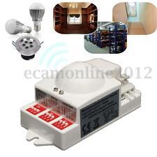500W 5.8GHz Microwave Radar Sensor Switch Body Motion Detector For LED Light
