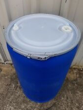 55 Gallon Plastic Barrel Drum with removable lid *Food Grade*