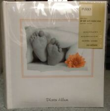 Baby Photo Album by Furio Home, 2-Up w/Memo Strip, 200 photos up to 4x6 in.