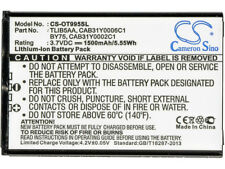 New Premium Battery for Alcatel TLIB5AA BY75 OT-995 One Touch 995 CAB31Y0006C1