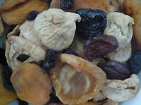 1 kg Getrocknete Früchte  Mix Trockenfrüchte Mischung traditionell  Trockenobst