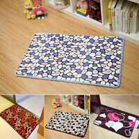 New Bath Room Floor Carpet Bedroom Fluffy Soft Absorbent Anti-slip Door Mat Rug
