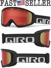 NEW Giro Index Flash OTG Goggles Titanium Wordmark/Amber Scarlets Lens, Adult M