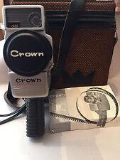 Vintage Crown Auto Zoom 201, F:1.8 f=9.5~30mm, Remote control,  Japan 1950's
