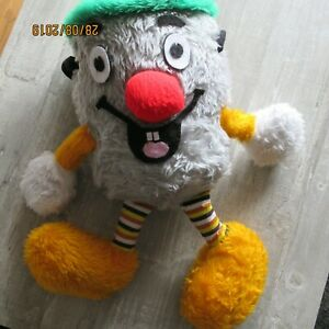 Vintage Cuddley toy From 1980's DustyBin From The Tv Show 321