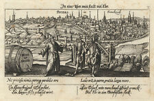 Poitiers (France) - Copperplate, Meisner Treasure käst Lein, um 1626