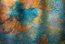 10x6.5' Background Photography Studio Props Backdrop Abstract Rust Scene Vinyl