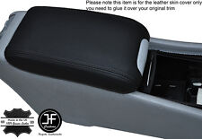 BLACK STITCHING LEATHER ARMREST COVER FITS MERCEDES C CLASS W203 2001-2007