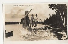 Canada, Another Good Fish Story Fantasy RP Postcard, B250
