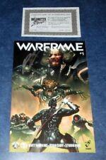 WARFRAME #1 signed 1st print  MATT HAWKINS iMAGE TOP COW comic COA NM game based