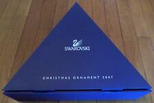 RARE 2007 Empty SWAROVSKI DEALER'S CASE,Storage Box,Holds 12 Christmas Ornaments