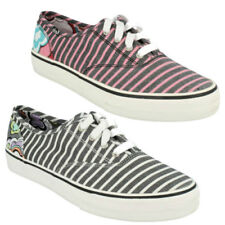 Plimsoll Striped Shoes for Women