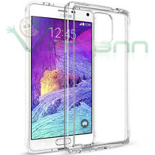 Pellicola+Custodia cover PERFECT FIT trasparente per Samsung Galaxy Note 4 N910F