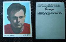 ***COPPA DEL MONDO 1966*** ED. FERRERO - NOVAK DEZSO UNGHERIA !!!