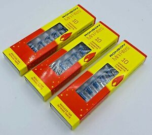 RONSON Disposable MINI Cigarette Smoking FILTERS Tobacco Reduce TAR Catcher Tips