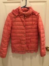 Women Girls 100% Down Jacket S Pink