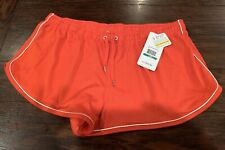 NWT Under Armour Women's Legacy Mesh Shorts, Fuego, Large L $34.99