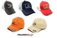 Fulling Mill Fishing Caps Various Trucker Fly Patch All Colours Baseball Hats