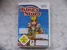 Little King's Story (Nintendo Wii, 2009, DVD-box)