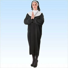 Nonnenkostüm Gr. XL Karneval Faschingskostüm Kostüm Nonne Kloster Abtissin Äbtin