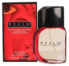 Men REALM by Erox Corp Cologne for Men 3.4 oz 100 ml  New Sealed (Not inner)