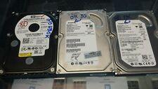"LOT OF 4 80GB SATA 3.5"" Desktop Hard Drive Major Brands TESTED / WORKING / WIPED"