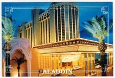 1990's Aladdin Hotel and Casino Las Vegas Strip Nevada Eve Postcard Vintage NOS