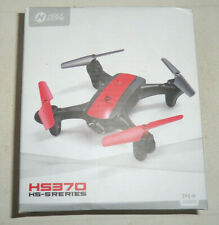 HOLY STONE HS370 QUADCOPTER RC DRONE W/ BUILT IN 720p CAMERA 2 BATTERIES uns nib