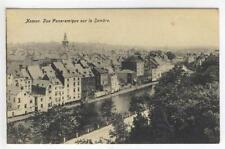 AK Namur, Vue Panoramique sur la Sambre, 1910