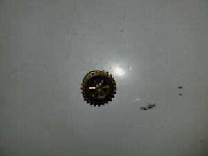 Vintage Gold Blue Enamel Rotary International Pin Tie Tack