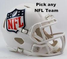NEW RIDDELL REVOLUTION SPEED NFL MINI FOOTBALL HELMET - Choose your teams!