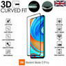 For Xiaomi Redmi Note 9 Pro Full 3D Tempered Glass 9H Screen Protector Cover