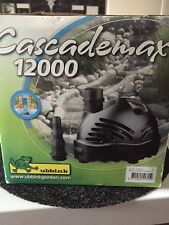 Cascademax 12000 - Wasserfall- und Bachlaufpumpe für den Gartenteich
