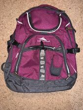 High Sierra Backpack with Laptop and Lots of Other Compartments - Purple