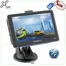 "XGODY 5"" 8GB Car Truck GPS Navigator Navigation SAT NAV w/ Bluetooth Free Maps"