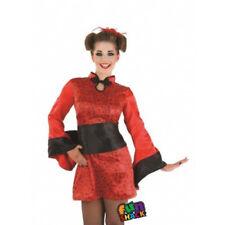 Women's GEISHA GIRL Fancy Dress Costume  3698 Small UK 8-10