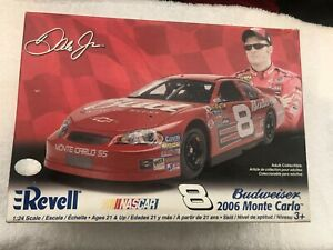 Revell 1:24 Nascar Model Kit Budweiser 2006 Monte Carlo Dale Jr. #8 Sealed