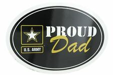 U.S. Army Proud Dad USA Military Oval Car Refrigerator Magnet