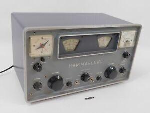Hammarlund HQ-100-C Vintage Tube Radio Receiver (excellent cosmetic condition)